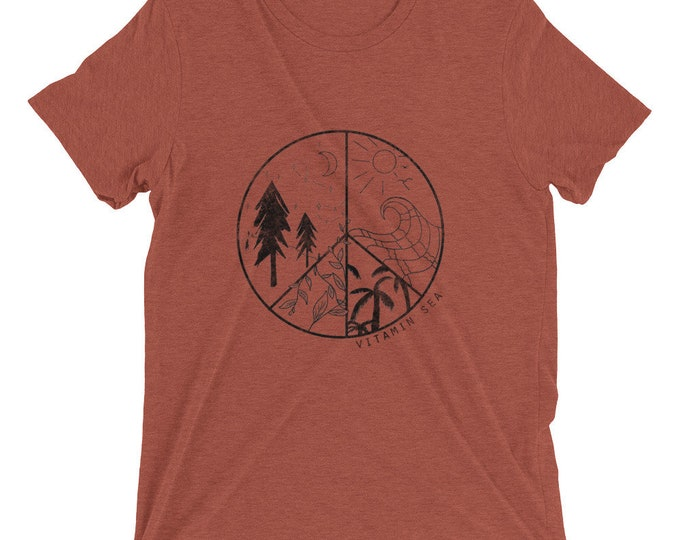 Outdoor Peace Sign Tee
