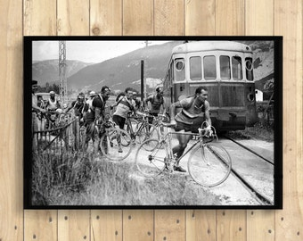 Tour de France Photography Print - Tour De France Poster Cycling Poster Bicycle Wall Art Cycling Home Decorating  1 FREE - Pt