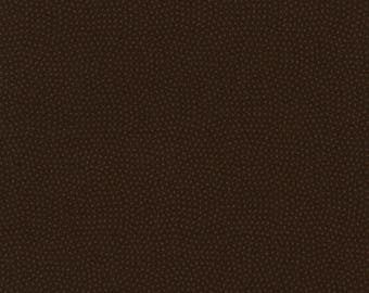1/2 Yard Timeless Treasures Spin Basics C5300 in Espresso