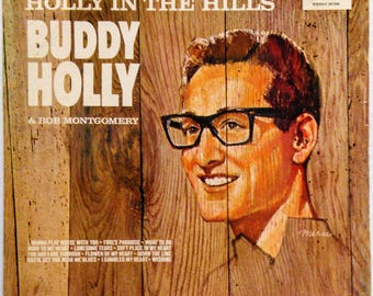 Buddy Holly In The Hills Early Rock Lp Coral German Pressing