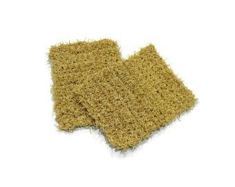 Wheat Pot Scrubbers Set of 2
