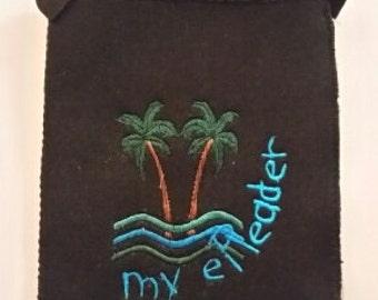 Custom Embroidered Neoprene eReader Tablet Cover