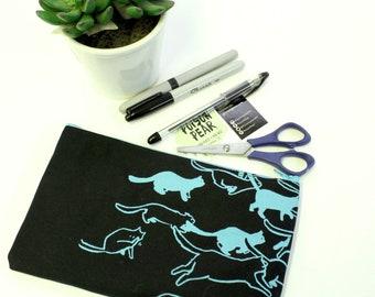 Pencil Case - Black Cat