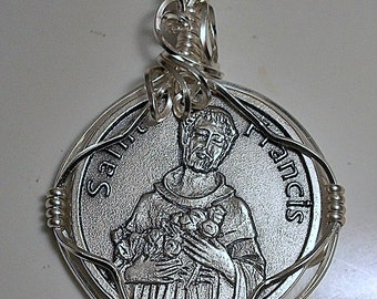 Saint Francis Medal Pendant