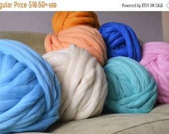 Merino Wool, Chunky Yarn,Super Chunky wool,Jumbo Yarn,Extreme Knitting Yarn, Bulky Yarn,Gift for Her,Knitting Yarn