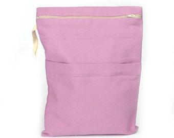 Diaper bag,Wet bag,Wet/Dry Nappy Bag,Water resistant bag with zipper pocketsr,Waterproof bag,Beach bag