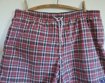 TOMMY HILFIGER Swim Trunks Vintage Hilfiger Trunks Shorts Men's XL