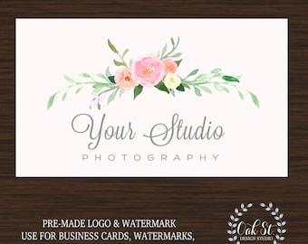 Photographer Logo, Photographer Branding, Photographer Watermark, Photographer Logo Template, Photographer Business Card Logo