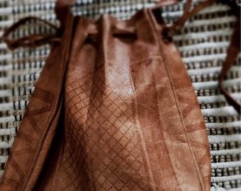 Vintage genuine leather bag | Shoulder bag | Handmade bag