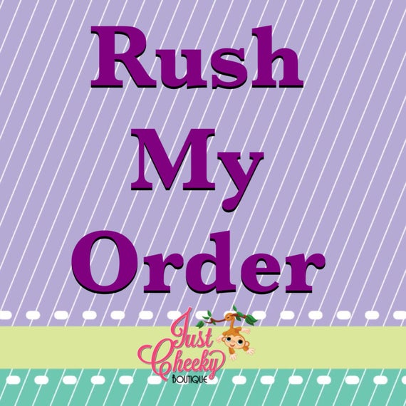 Rush My Order - Hooded Towels Only