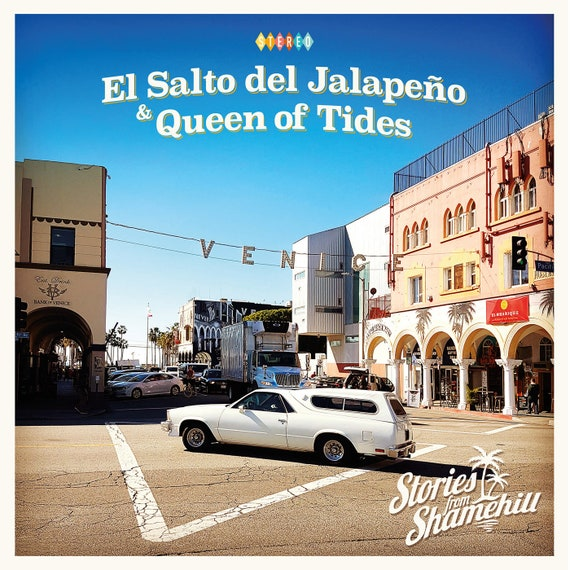 "NEW! Stories From Shamehill ""El Salto de Jalapeño / Queen of Tides"" 45 Single"