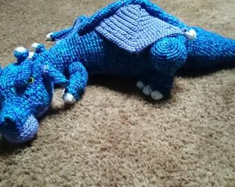 Fierce crochet Dragon!
