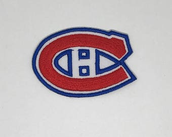 Montreal Canadiens Embroidered Iron On Patch