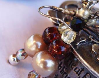 Earrings pearls - gift idea