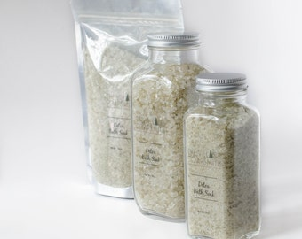 Detox Bath Soak, Bath Salts, Lavender and Rosemary bath salts