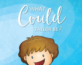 ¿Qué podría ser? Libro personalizado para niño niños - diseño de los personajes y personalizar el texto