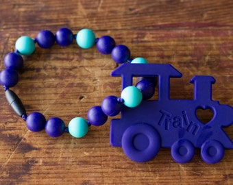 Chompy Train Babywearing Teething Accessory