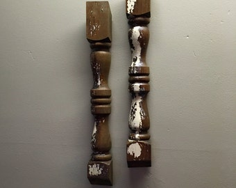 Spindle Wall Decor