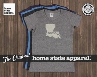 Louisiana Home. T-shirt- Womens Cut