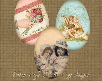 Osterei Vintage Bilder druckbaren digitale Download