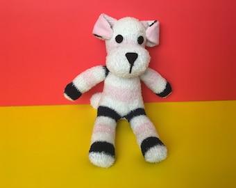 Soft, sock, fun doggie
