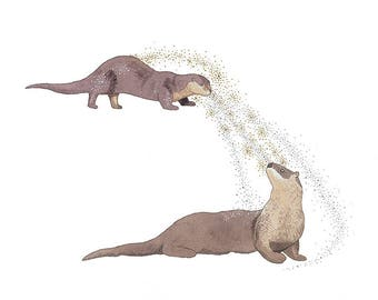 Kindred - Otter Print
