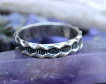 Sterling Silver Stacking Ring Sterling Silver Ring Band Silver Stacking Rings Sterling Silver Stackable Rings Sterling Silver Mens Ring
