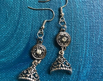 Tiara earrings