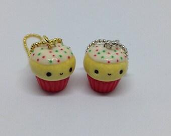 Christmas Sprinkle Cupcake