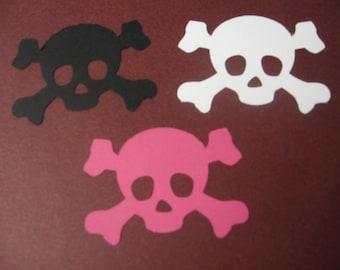 45 Skull Dies-Halloween Dies-Skull Paper Punches-Halloween Punches