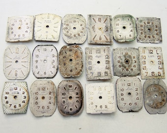 Small Watch Faces - set of 18 - c82