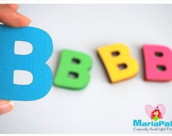 Die cut-lettres, Message personnalisé, 20 en 3,0 pouces Choisissez votre couleur A1004