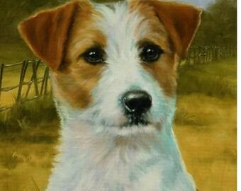 Jack Russell Terrier Garden Flags