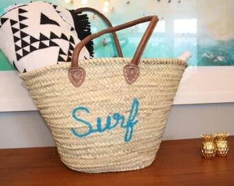 Straw Bag Fashion Bag Beach Tote Bag