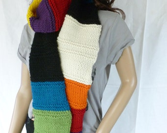Beautiful colorful scarf