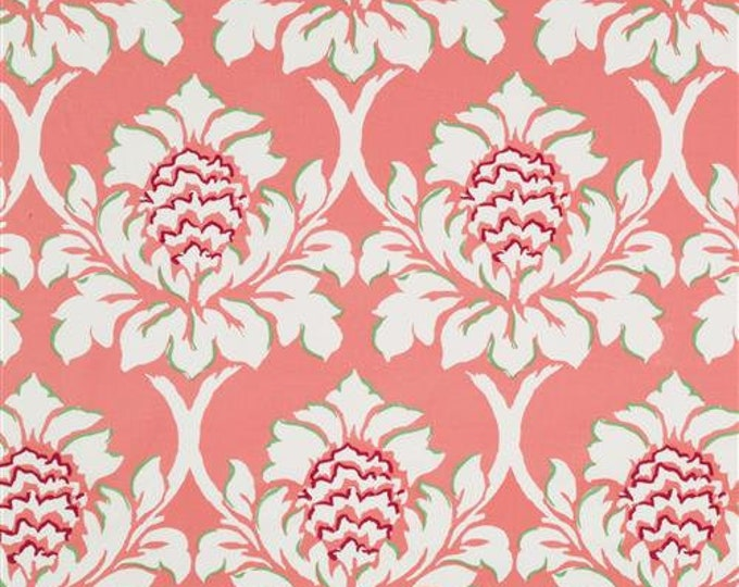 Madcap Cottage Ditchley Park in Rhubarb Designer Decorator Pillow Cover, Square, Euro, Sham and Lumbar Sizes