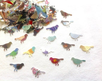 Paper Birds Table Sprinkles Table Confetti Bridal Shower Sprinkles Wedding  Table Sprinkles Party Supplies Table Confetti 200 Paper Birds
