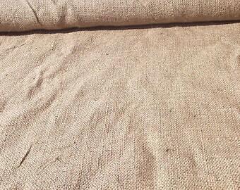 Burlap fabric 40 Inches Wide Natural Jute