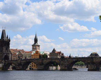 11x14 Charles Bridge, Prague, Czech Republic Photograph