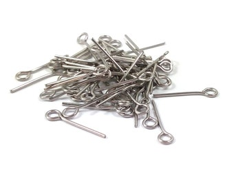 20 nails head eye 20mm stainless steel