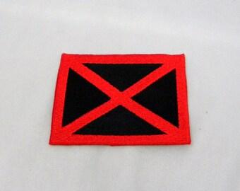 X-men patch - rectangle