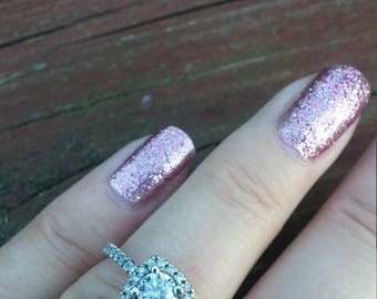 10k Gold 0.45ct Center Diamond Wedding Engagement Ring