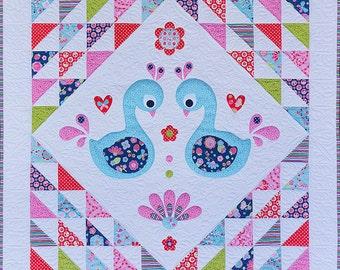 Sweet Little Swans Quilt Pattern