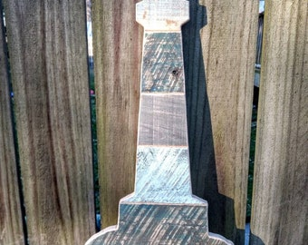 Rustic Lighthouse wall hanging