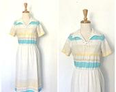 Vintage 1970s Shift Dress...