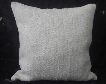 "Kilim Pillow, 24""×24""İnches, Decorative Kilim Pillow, Cushion Cover, Pillow Cover, Throw Pillow, Tribal, Aztec, Decor, Ethnic, Design, Boho"
