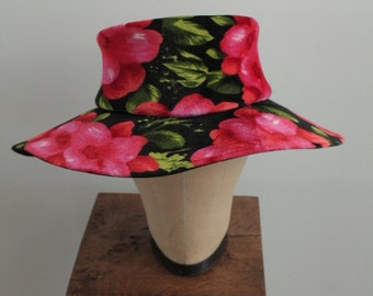 1960's Wide Brimmed Moiseur Henri Jr. Hat
