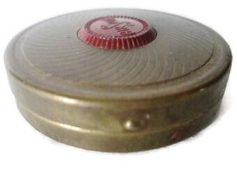 1930s Sub Deb Air Spun Rouge Pot Coty New York
