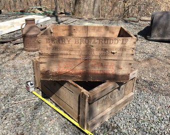 Berry Bros & Rudd Cutty Sark Scotch Whiskey Wooden Crate
