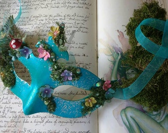 Fairy mask, masquerade masks, enchanted fairy wings, woodland faeries, forest nymph, pixie, fae, UK, wings, festival mask, masquerade, party